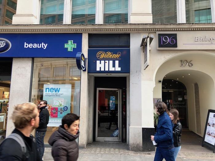ウィリアムヒルの店舗での賞金受け取り方法