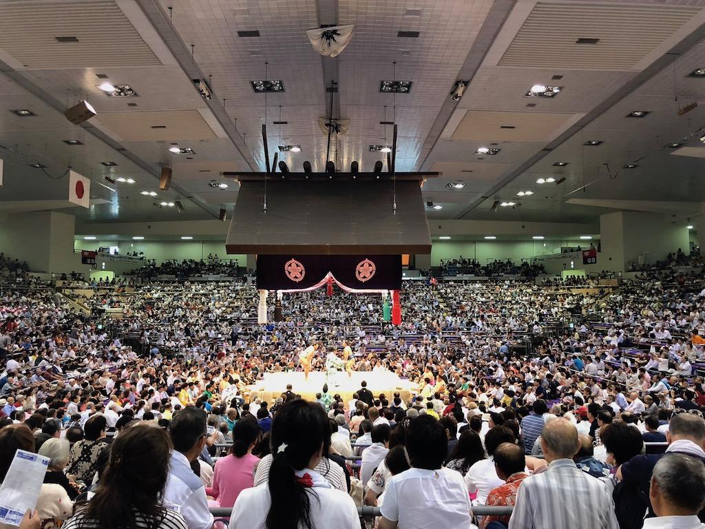 相撲の生観戦
