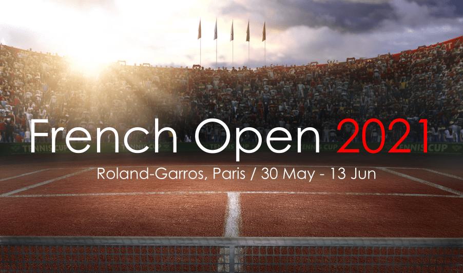 全仏オープンテニス2021のブックメーカー優勝オッズ